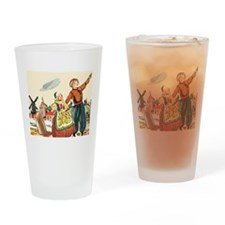 Dutch Life Drinking Glass