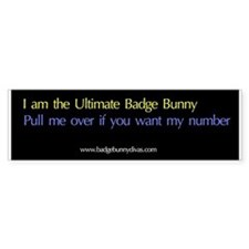 ultimate badge bunny Bumper Bumper Sticker