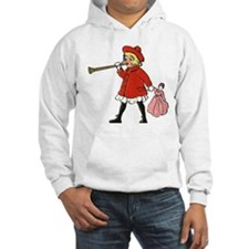 Girl with horn Hoodie