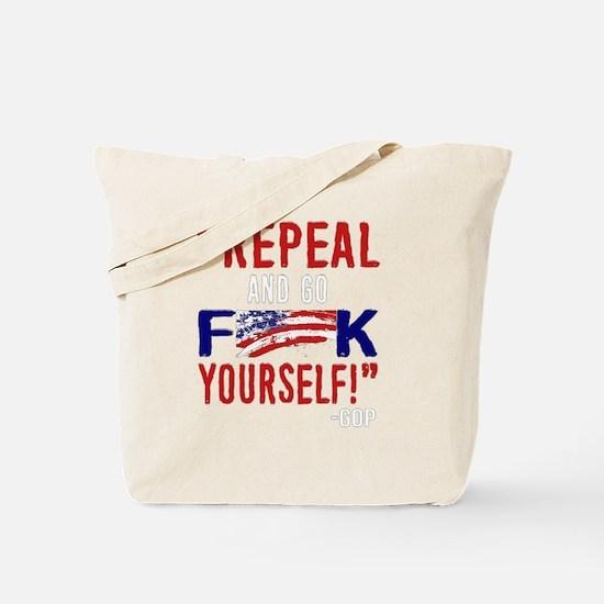 Unique Repeal Tote Bag