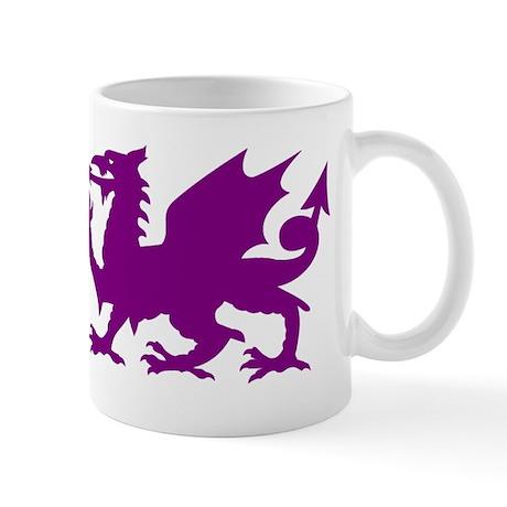 Purple Gargoyle Dragon Small Mug