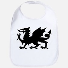 Black Gargoyle Dragon Bib