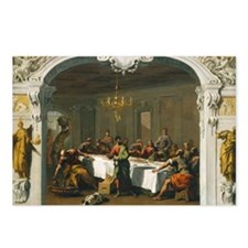 Sebastiano Ricci - The Last Supper Postcards (Pack