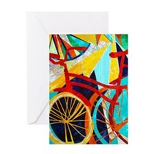 Biking #1 Greeting Card