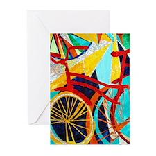 Biking #1 Greeting Cards (Pk of 10)