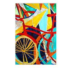 Biking #1 Postcards (Package of 8)