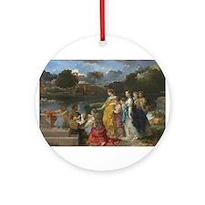 Sebastien Bourdon - The Finding of Moses Ornament