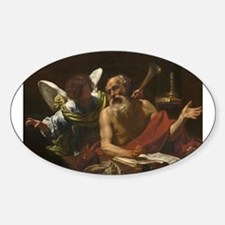 Simon Vouet - Saint Jerome and the Angel Decal