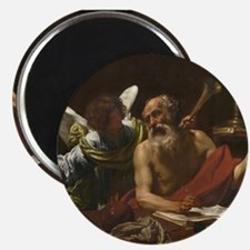 Simon Vouet - Saint Jerome and the Angel Magnet
