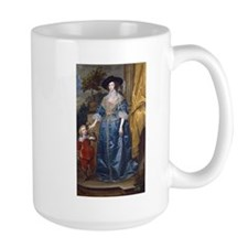 Sir Anthony van Dyck - Queen Henrietta Maria with