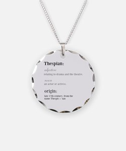 Funny Musical theatre Necklace
