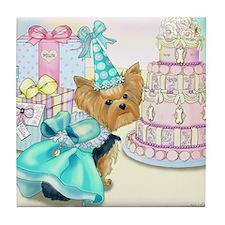 Millie LaRue Birthday Tile Coaster