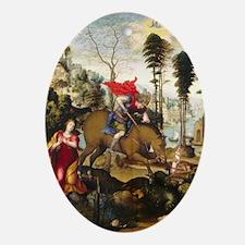 Sodoma - Saint George and the Dragon Ornament (Ova