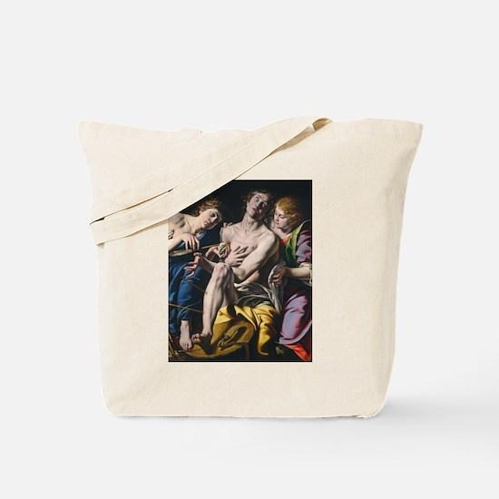 Tanzio da Varallo - Saint Sebastian Tote Bag