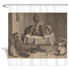 The Cats Concert Shower Curtain