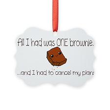 Happy Brownie Ornament