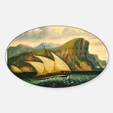Thomas Chambers - Felucca off Gibraltar Decal
