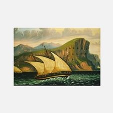 Thomas Chambers - Felucca off Gibraltar Rectangle