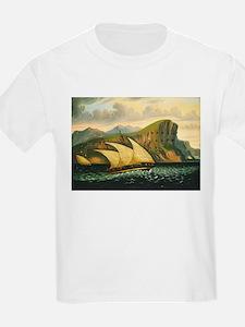 Thomas Chambers - Felucca off Gibraltar T-Shirt