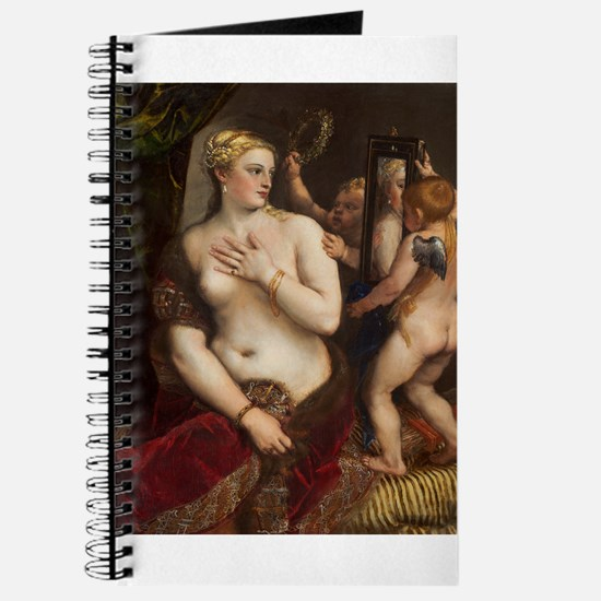 Titian - Venus with a Mirror Journal