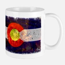 Colorado Wildfire Flag Mug