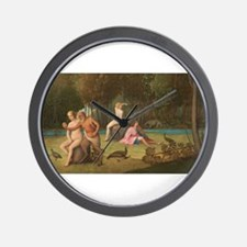 Venetian 16th Century - Orpheus Wall Clock