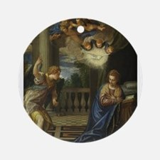 Veronese - The Annunciation Ornament (Round)