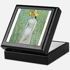 Vincent Van Gogh - Girl in White Keepsake Box