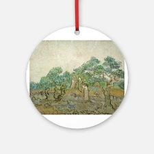 Vincent Van Gogh - The Olive Orchard Ornament (Rou