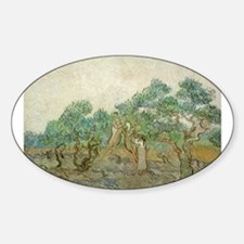 Vincent Van Gogh - The Olive Orchard Decal