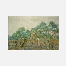 Vincent Van Gogh - The Olive Orchard Rectangle Mag