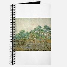Vincent Van Gogh - The Olive Orchard Journal