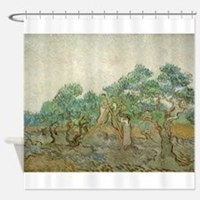 Vincent Van Gogh - The Olive Orchard Shower Curtai