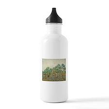 Vincent Van Gogh - The Olive Orchard Water Bottle