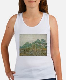 Vincent Van Gogh - The Olive Orchard Tank Top