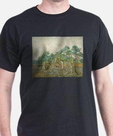 Vincent Van Gogh - The Olive Orchard T-Shirt