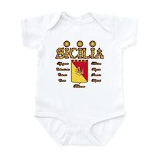 Sicilia Trinacria Sicilian Pride Infant Creeper