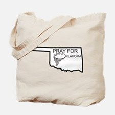 Pray For Oklahoma Tote Bag