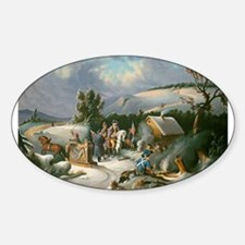 Washington at Valley Forge Decal