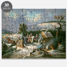 Washington at Valley Forge Puzzle