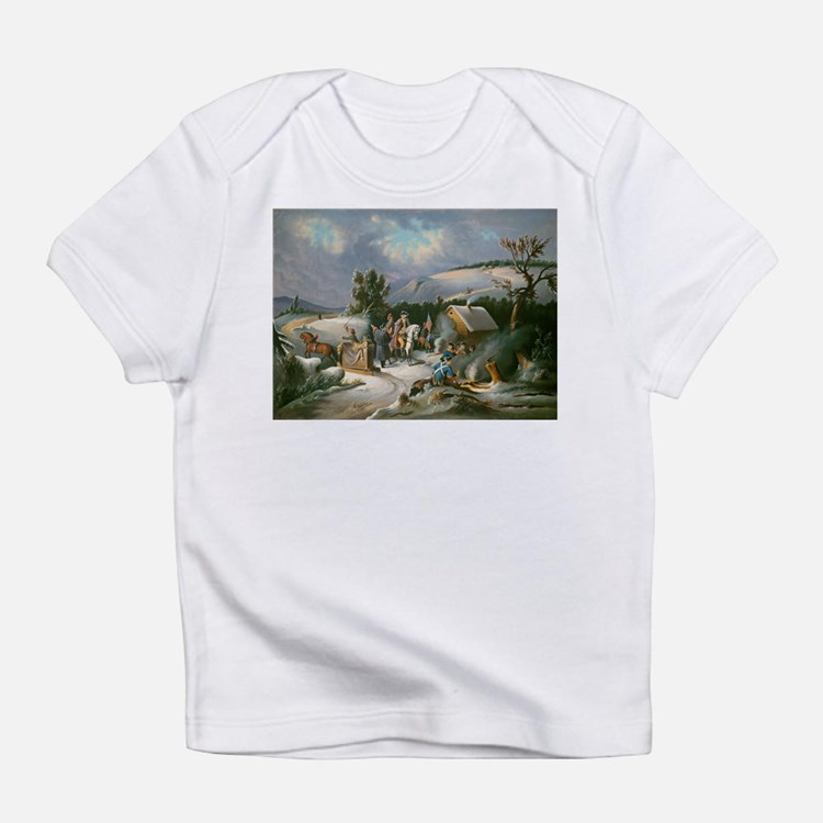 Washington at Valley Forge Infant T-Shirt