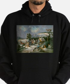 Washington at Valley Forge Hoodie
