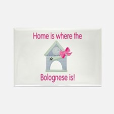 Home is where the Bolognese is Rectangle Magnet (1