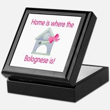 Home is where the Bolognese is Keepsake Box