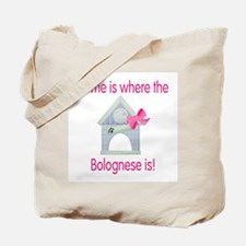 Home is where the Bolognese is Tote Bag