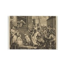 William Hogarth - The Enraged Musician Rectangle M