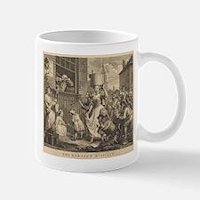 William Hogarth - The Enraged Musician Mug