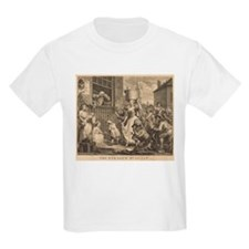 William Hogarth - The Enraged Musician T-Shirt