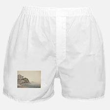 William Pars - An Italian Coast Scene Boxer Shorts