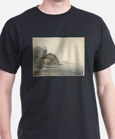 William Pars - An Italian Coast Scene T-Shirt